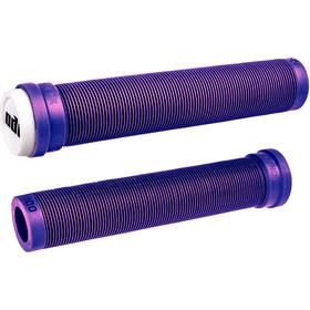 ODI Longneck SLX Flangeless BMX Grips, purple